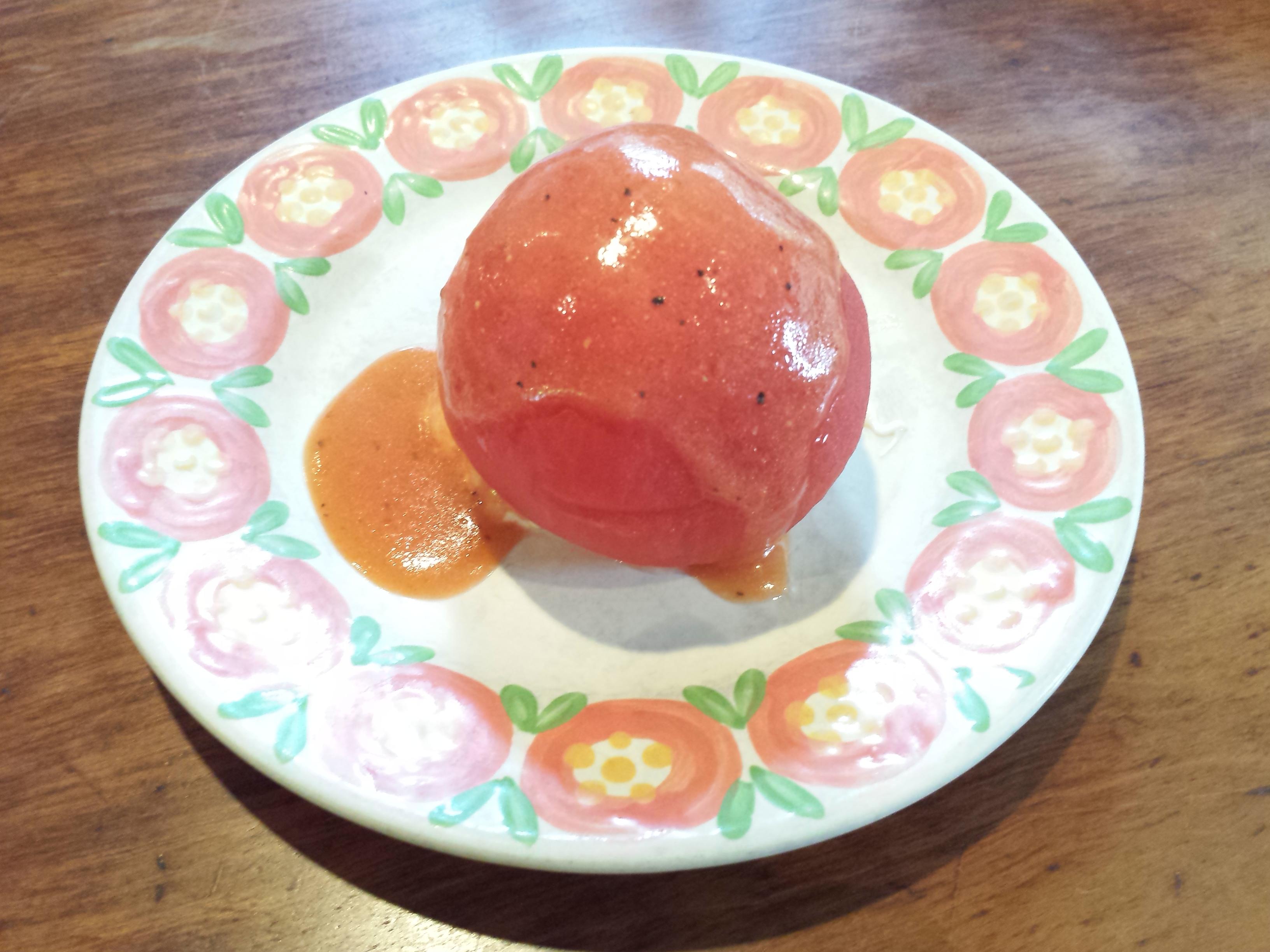 キャピタル東洋亭 本店 トマトの前菜