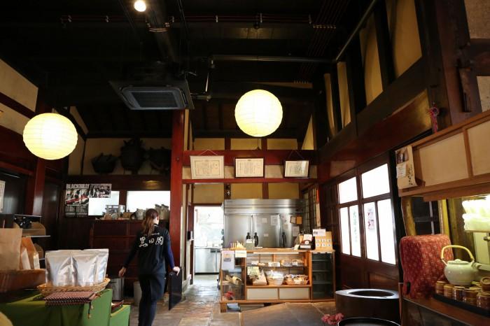 手打ちそばと朝宮茶の店 黒田園 -滋賀県信楽-