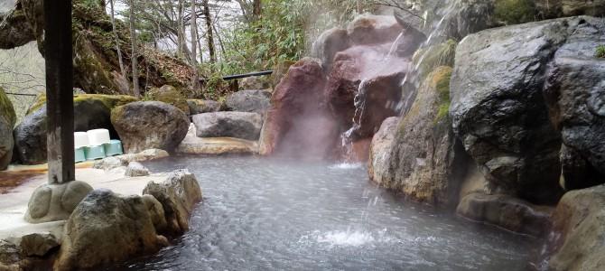 平湯温泉「神の湯」から荘川桜へ