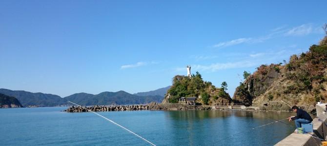 釣姫漁港で釣り-福井県小浜-
