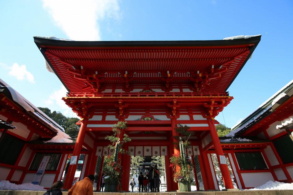 近江神宮へ初詣-滋賀県大津市-