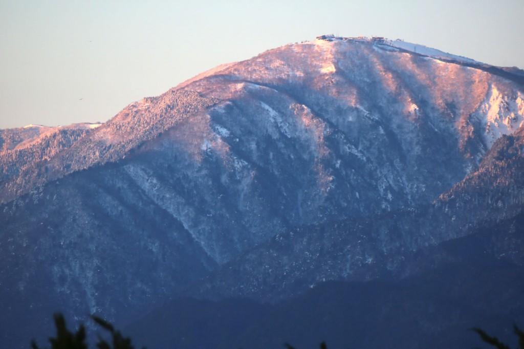 白髭神社からの日の出-滋賀県高島市-