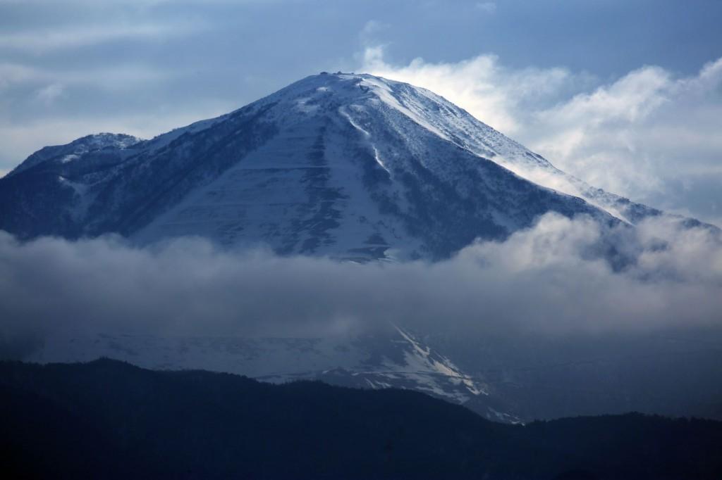 冬の伊吹山